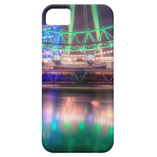 The London Eye on St. Patrick's Day Case For iPhone 5/5S
