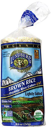 Lundberg Organic Brown Rice Cakes (Lightly Salted), 8.5-Ounces (Pack of 12) - http://goodvibeorganics.com/lundberg-organic-brown-rice-cakes-lightly-salted-8-5-ounces-pack-of-12/