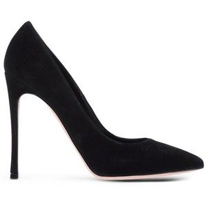 geniue stockist cheap online Gianvito Rossi Suede Peep-Toe Pumps newest sale online TI801K