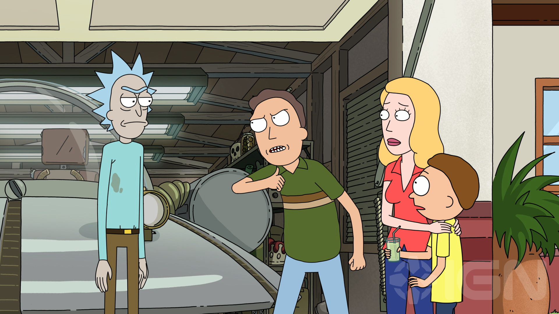 Rick And Morty Exclusive New Image Shows Rick And Jerry At War If You Re A Rick And Morty Fan You Can T Help But Lo Rick And Morty Season Rick And Morty