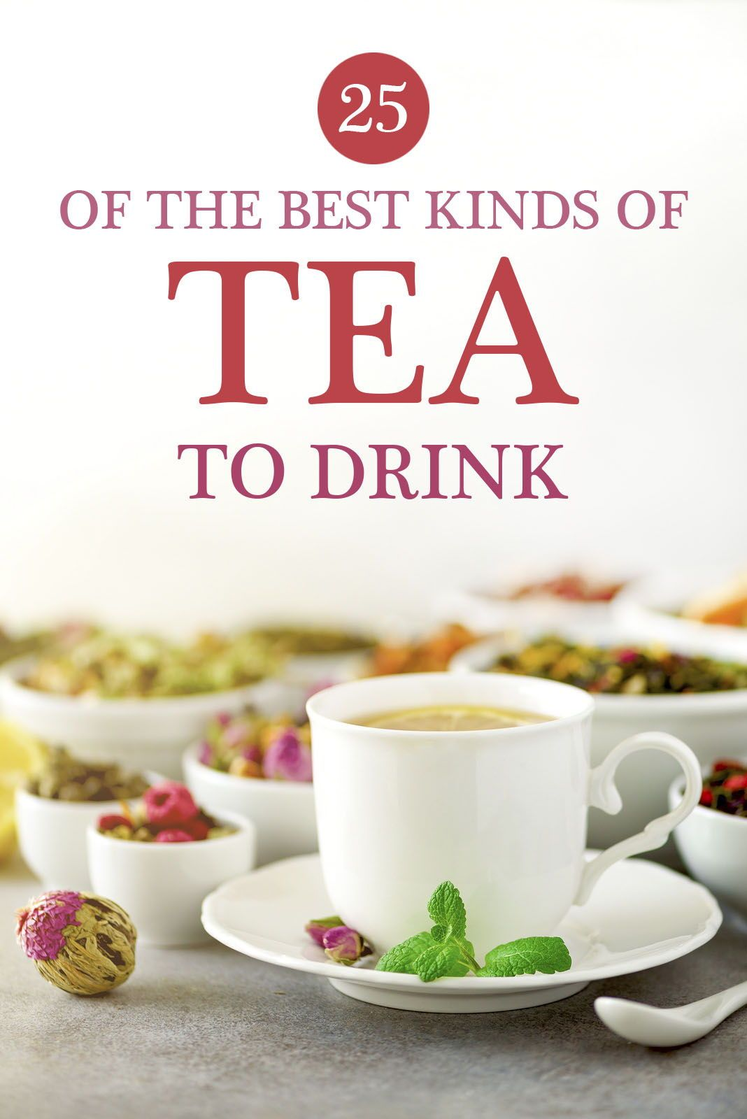 26 Types of Tea Profiles, Potential Benefits, Side