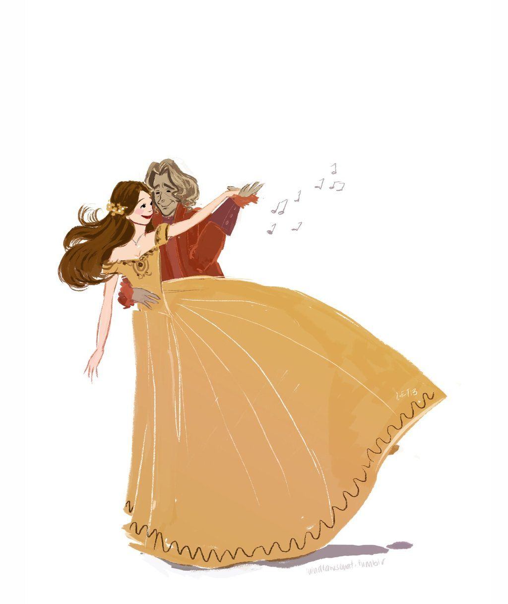 Rumbelle- Shall we dance by ~snoprincess on deviantART