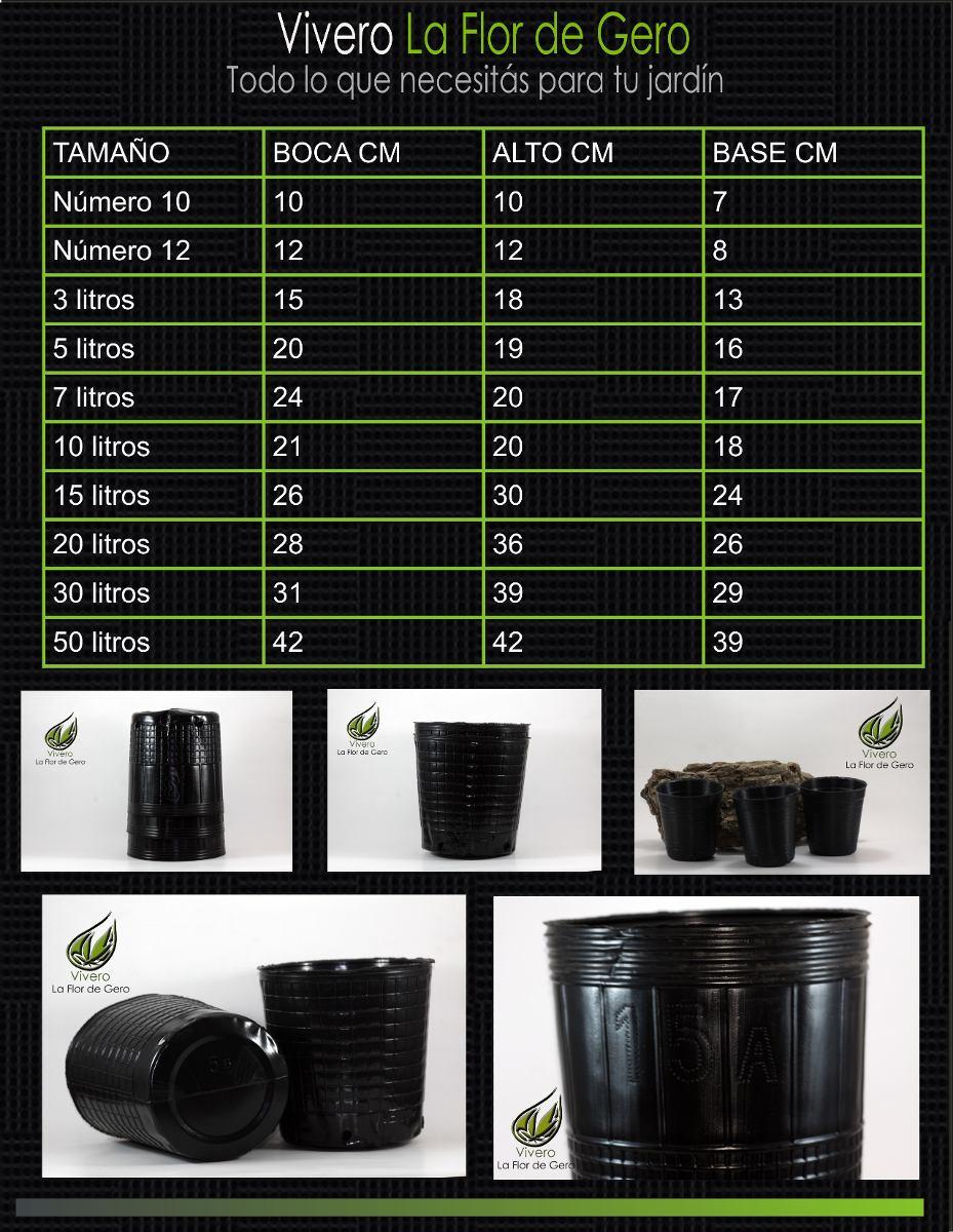 Macetas Sopladas De 3 5 10 15 20 30 Y 50 Litros 130 00 Macetas Huerta En Macetas Macetas De Plastico
