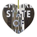 new-york-city-empire-state-of mind ceramic ornament  new-york-city-empire-state-of mind ceramic ornament  $16.05  by nellzfotos  . More Designs http://bit.ly/2fwNuVk #zazzle