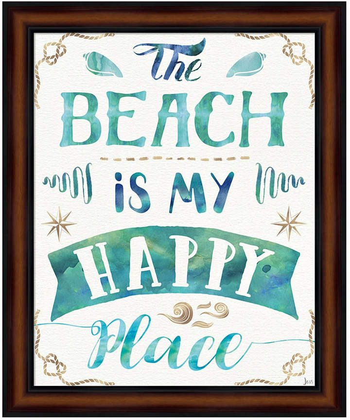 Love And The Beach Ii By Jess Aiken Framed Art Products In 2019