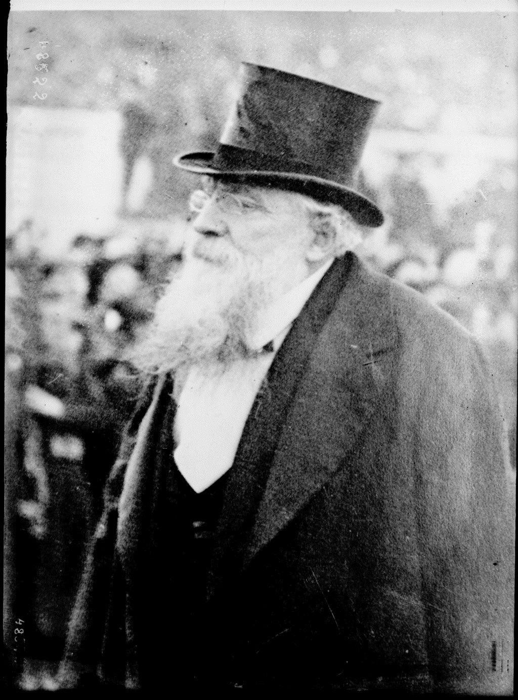 Rodin | Agence Rol. Agence photographique | 1917 | National Library of France | Public Domain