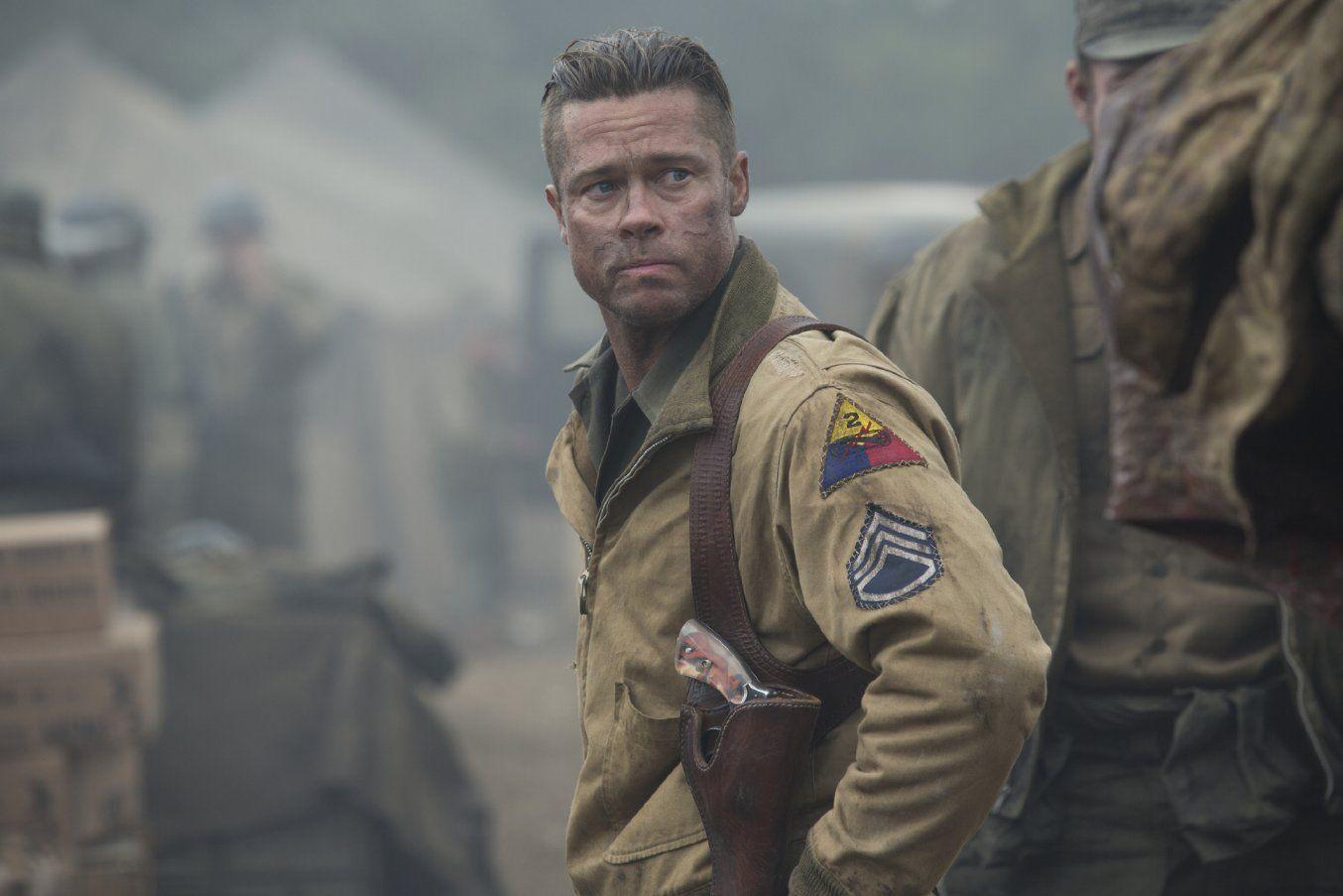 Fury Herz Aus Stahl Brad Pitt Frisur Upworldthegame
