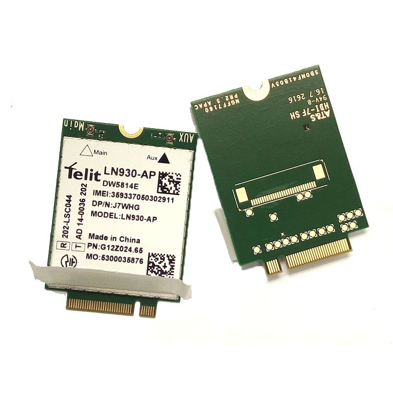 JINYUSHI for Telit LN930-AP DW5814e NGFF 4G LTE 150M Module