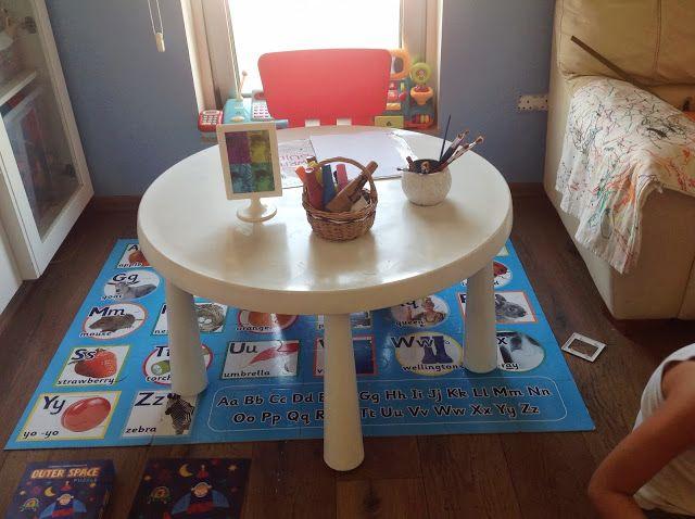 The Crafty Doolittle S Ikea Mammut Kids Table Painted