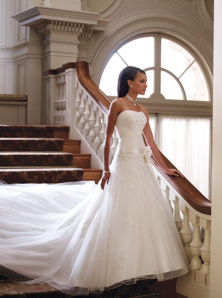 david tutera wedding dresses clearance | David Tutera Bridals 29245 ...