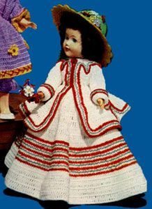 Nelly was a Lady | Crochet Patterns #indianbeddoll