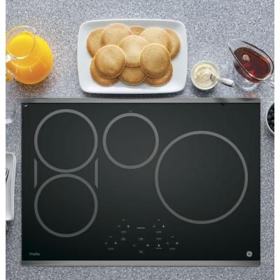 Ge Profile 30 In Electric Induction Cooktop In Stainless Steel
