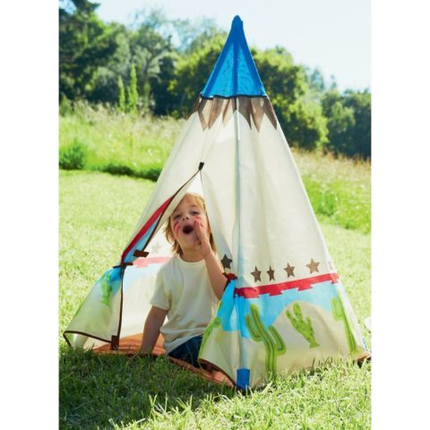 lowest price 8f1b8 9f2ba Buy Early Learning Centre Cowboy Teepee Play Tent from our ...