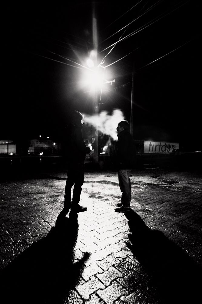 ¨Long Vehicle¨ | Photograph by Cem Şirolu #magazine #photographymagazine #photography #nightworkers #night #nighttime #nomanipulation #nightlife #road #longvehicle