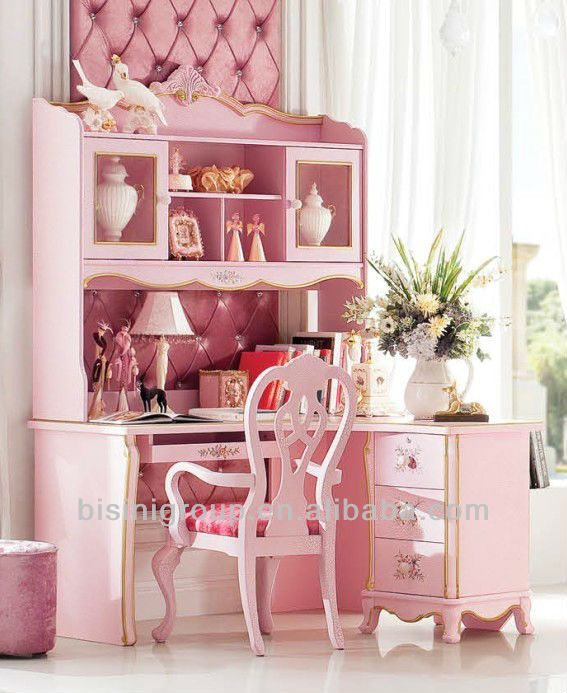 europ ischen stil holz lesung b chertisch sch ne kinder schreibtisch und stuhl rosa m dchen. Black Bedroom Furniture Sets. Home Design Ideas