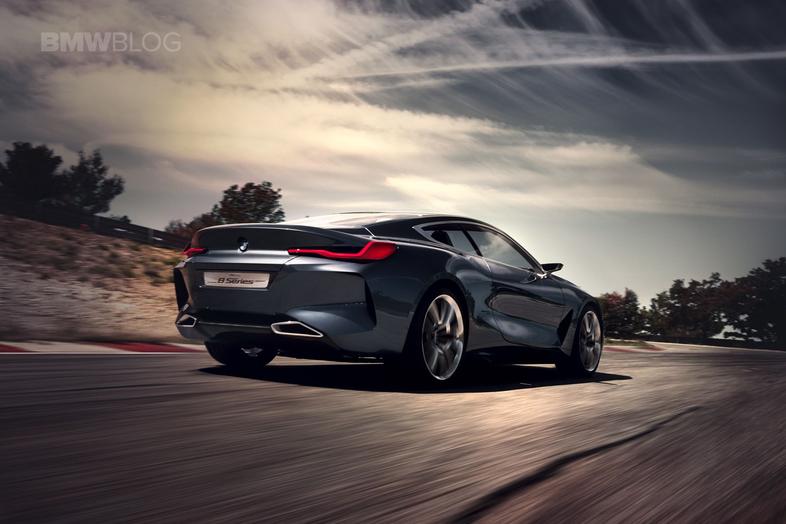 Reborn first videos of the new bmw 8 series concept http