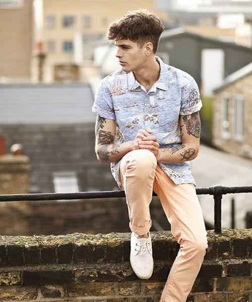 Men s Sleeve Tattoo Designs Moda Masculina 2017 44c256b0e73