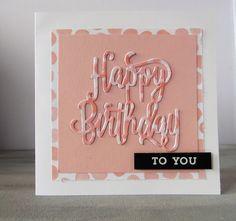 Happy Birthday Karte Stampin Up Online Bestellen Bei Ilonasstempelhausde