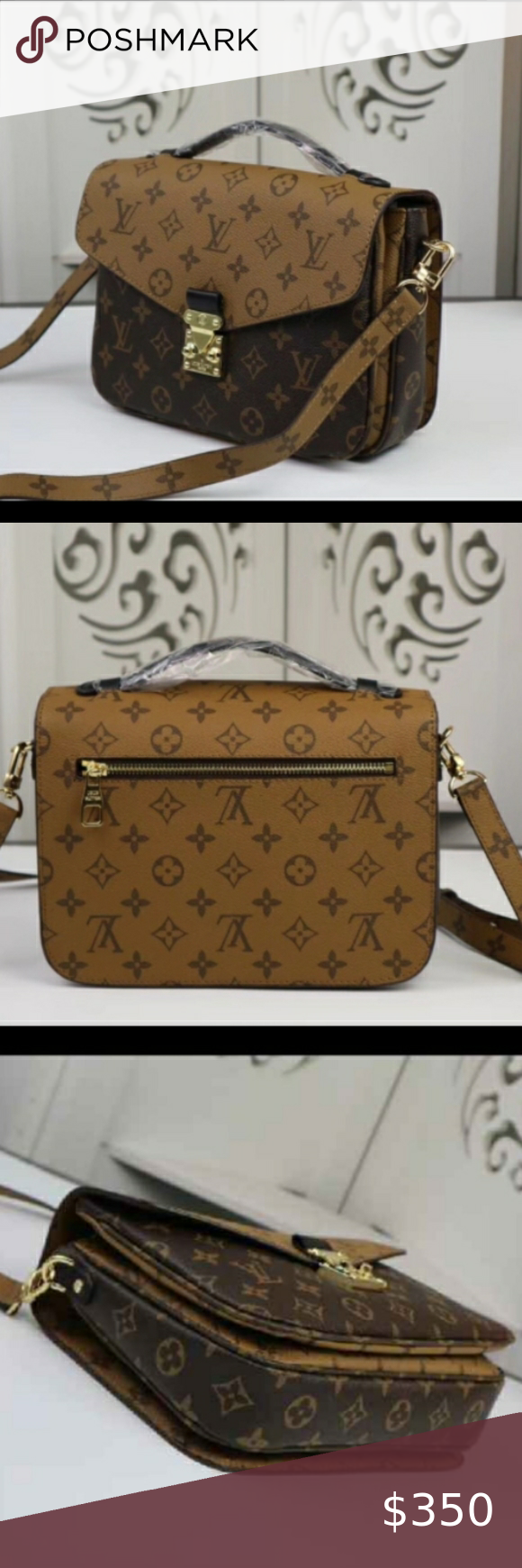 Louis Vuitton 10 X 7 X 4 Real Leather Not Authentic Without Box Zara Bags In 2020 Louis Vuitton Vuitton Zara Bags