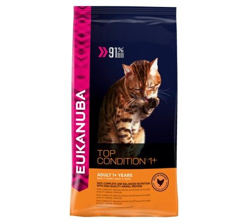 Eukanuba Cat Top Condition 1 10 Kg Animail No Kattemat Katt Lam