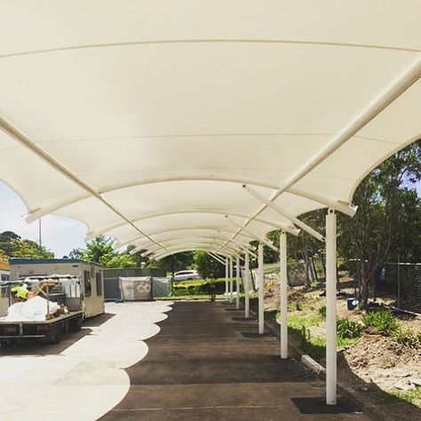 Lets Get You Covered Tensile Carparking Chandigarh Panchkula Outdoor Shade Shade Structure Carport Patio