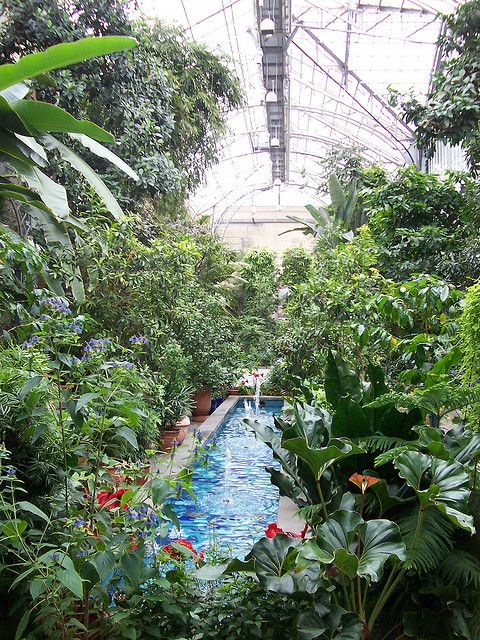 The U.S. Botanical Gardens 100 Maryland Ave. at First St. SW, At the ...