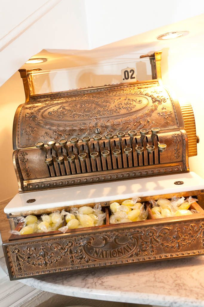 A superb example of a vintage working till.