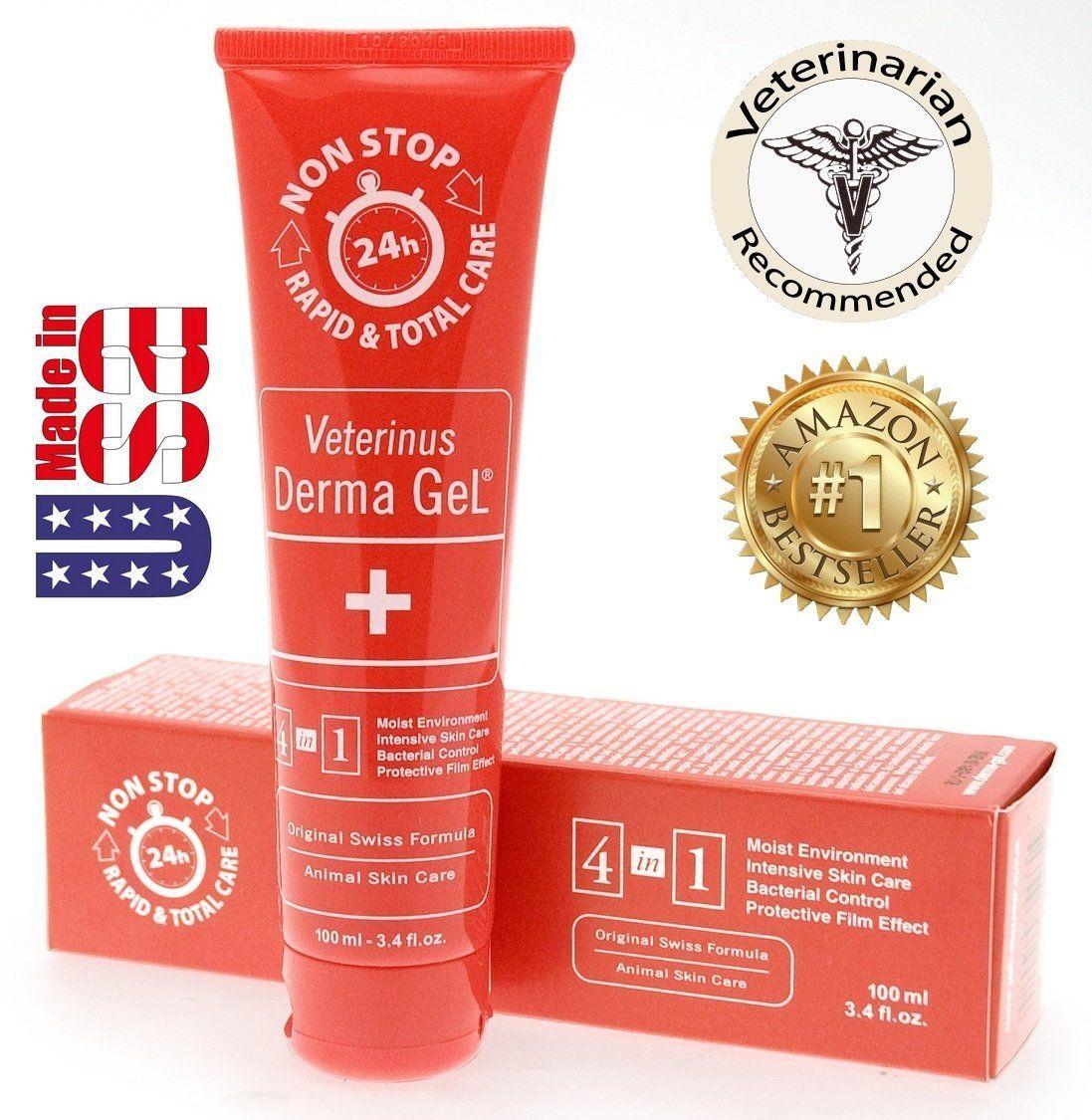 Veterinus Derma GeL® Tube 100mL 3.4 fl.oz. 1 FREE 10mL