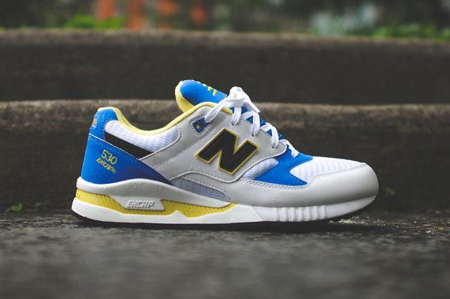 b9d738f4fcfc7 New Balance 530 Og (Blue/Yellow) | Kicks | Yellow sneakers, Sneakers ...