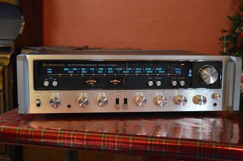 Kenwood KR 6600 Vintage Receiver Refurbished A Beauty Rack