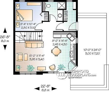 House plan W2919 detail from DrummondHousePlans com   Home
