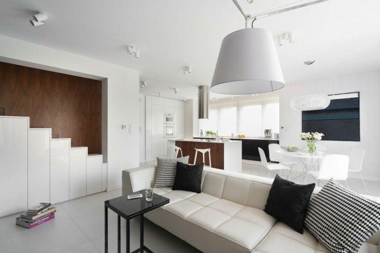 Wohnung Einrichten U2013 Wohnideen In Schwarz Weiß #einrichten #schwarz  #wohnideen #wohnung