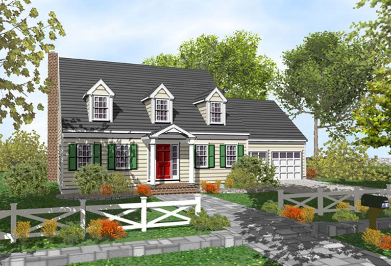Addition to cape cod house plans for Additions to cape cod style homes