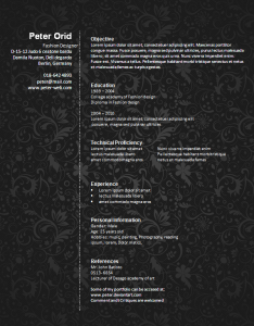 Fashion designer cv template winword resume templates pinterest fashion designer cv template yelopaper Gallery