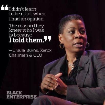 Quotes By Black Women Impressive Ursula Burns  Words  Pinterest  Ursula Design Decoration
