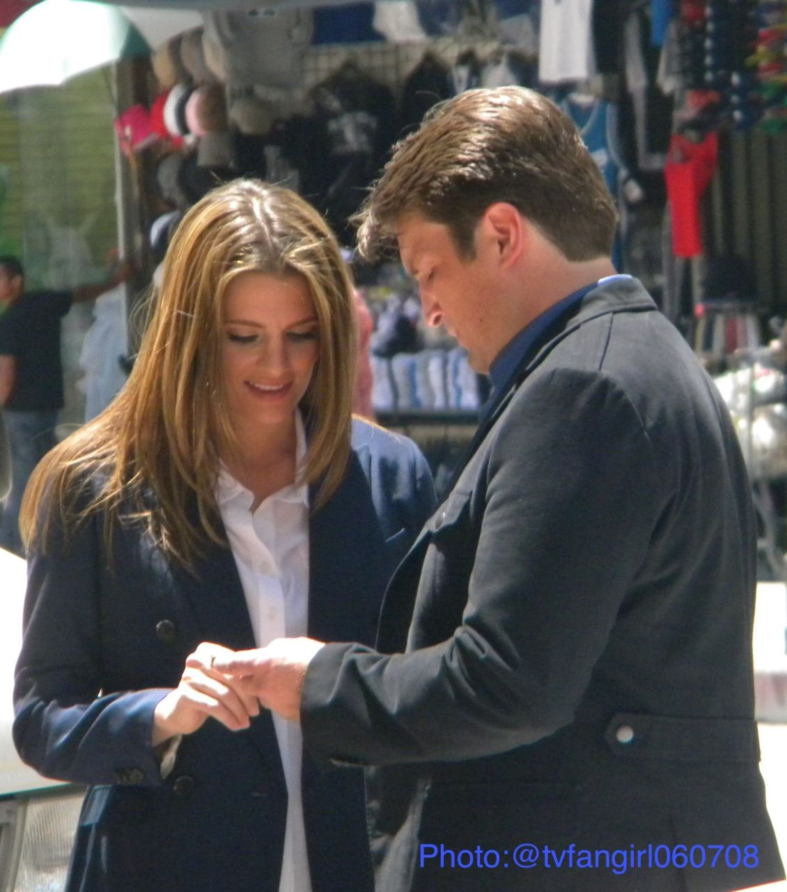 castle behind the scenes