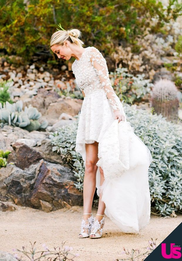 See Whitney Port S Stunning Wedding Album Whitney Port Wedding Wedding Dresses Boho Wedding Dress