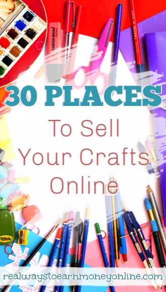 30 Places To Start Selling Crafts Online (Legit & Researched!) #craftstosell