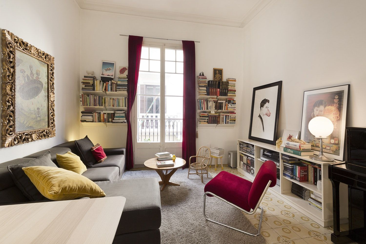 Tour an Art Gallery Owner's Eclectic Barcelona Apartment