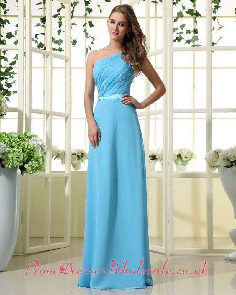 Sky Blue Bridesmaid Dress Floor Length. Or this one for bridesmaids ...
