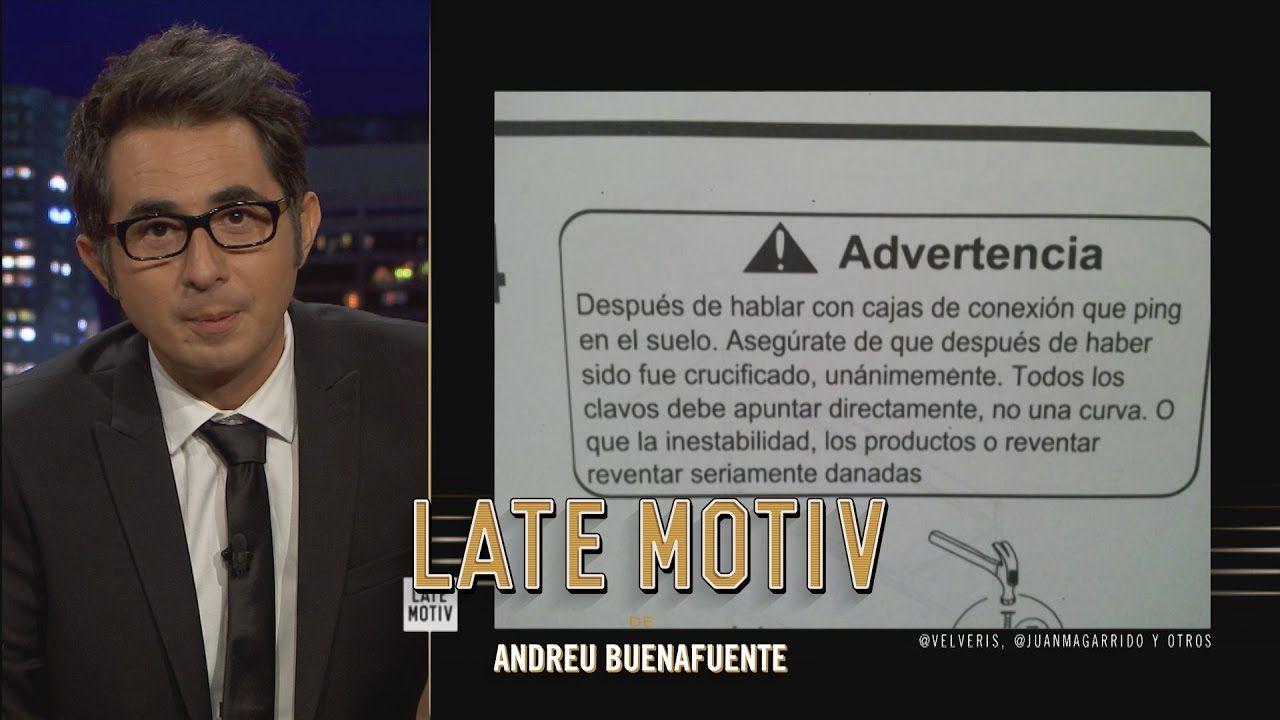 Me ha gustado este vídeo en YouTube: LATE MOTIV - Berto Romero. Fucknando apocalipsis y Buenafuente 'el guapo gruñón' | #LateMotiv127