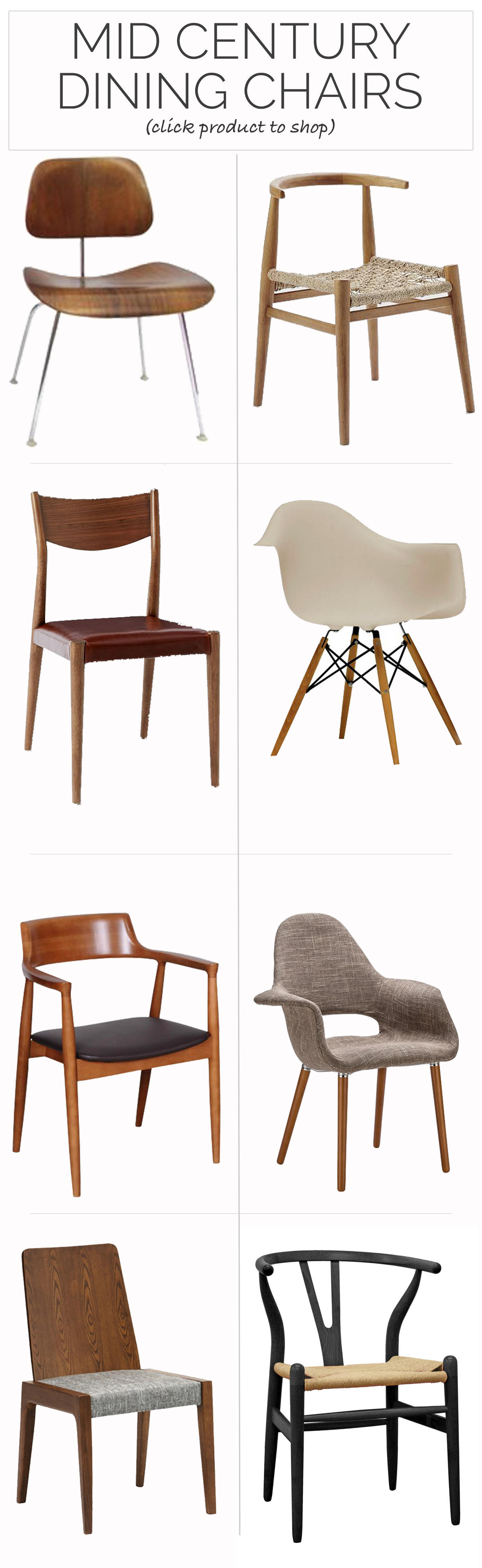 The 8 Best Mid Century Dining Chairs For Just About Every Budget