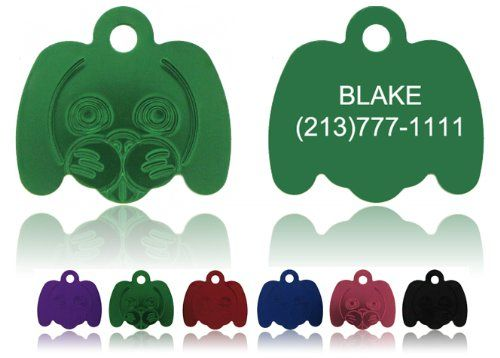 "Dog Face Pet Tags FREE & Fast Shipping! Enter details in ""Gift Message area at checkout - http://www.thepuppy.org/dog-face-pet-tags-free-fast-shipping-enter-details-in-gift-message-area-at-checkout/"