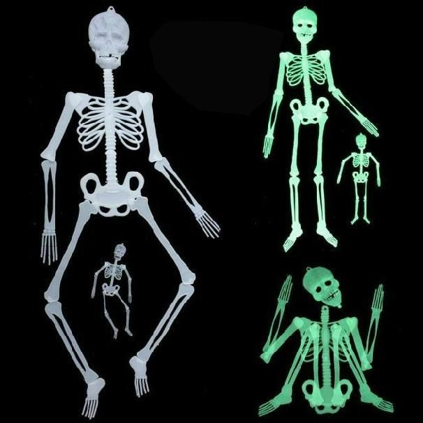 Visit to Buy Scary Halloween Decorations Horror Luminous Movable - halloween decorations skeletons