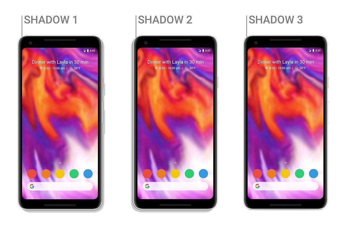 Google Pixel 2 Xl Vector Mockup Pixel Google Pixel 2 Holiday Vectors