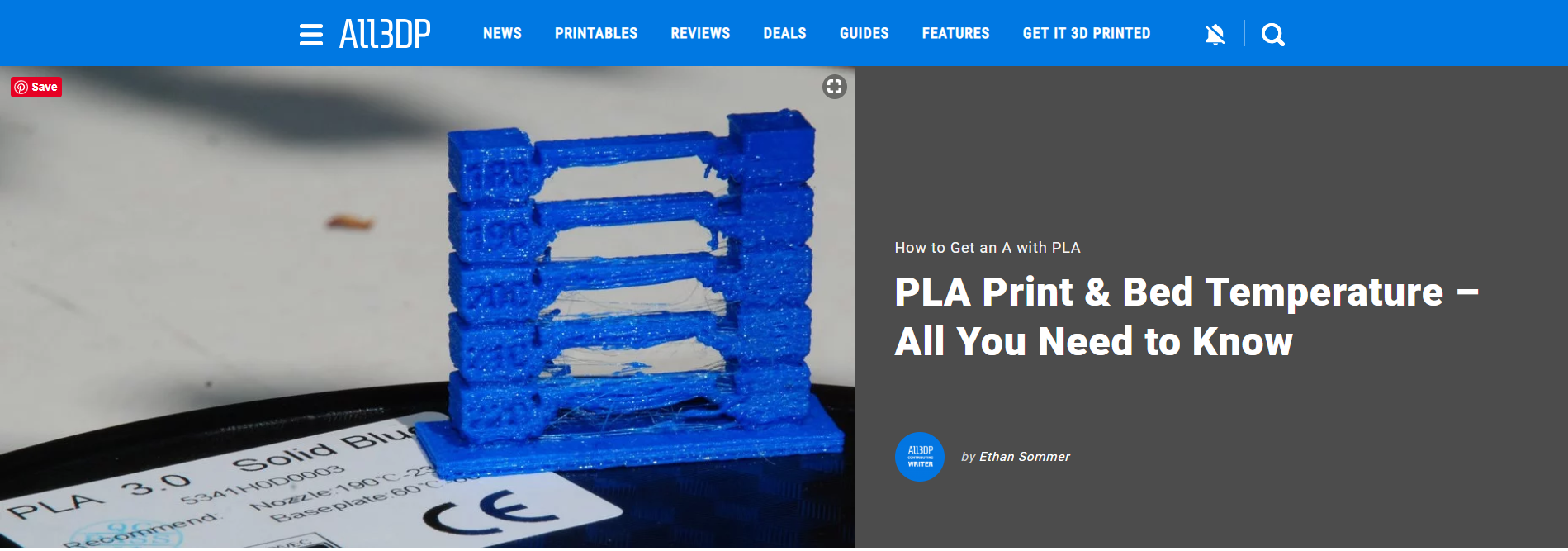 PLA Print & Bed Temperature All You Need to Know Print