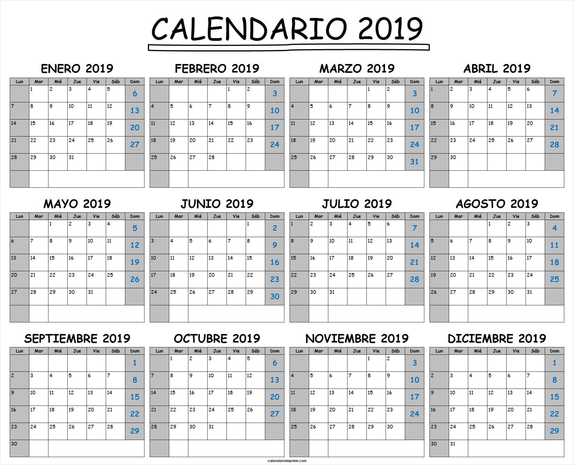 Calendario 2020 Excel Italiano.Formato Calendario 2019 Emayti Australianuniversities Co