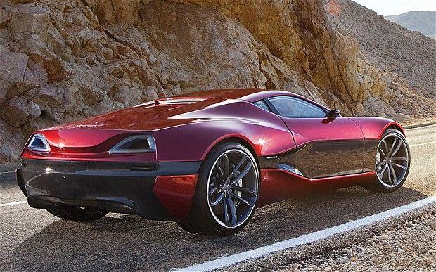 Rimac 1 Million Electric Supercar Debuts Super Cars Electric Sports Car Luxury Cars
