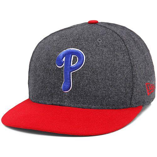 on sale 41b06 89853 Philadelphia Phillies Melton Basic 59FIFTY Fitted Cap - MLB.com Shop