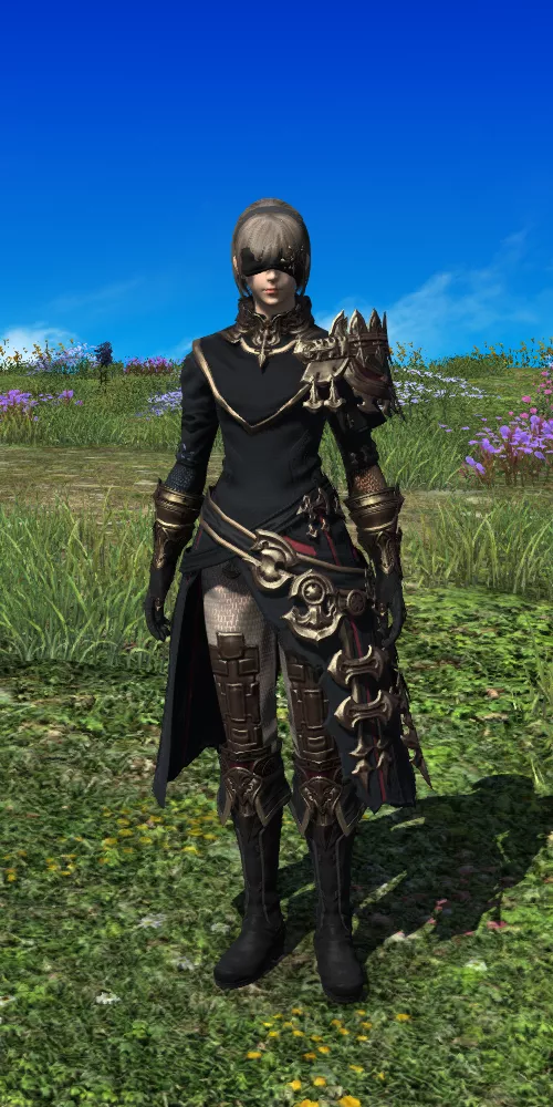 XIV Style | Midan Aiming Armor Set | FFXIV Glamour in 2019